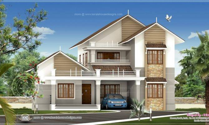 Pitched Roof House Designs Modern