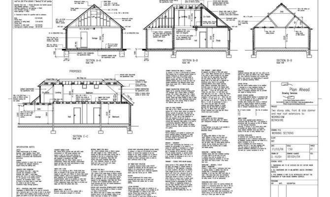 Plan Ahead Drawing Services Drawings House Extensions