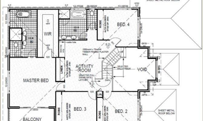 Plan Bedroom Plus Home Theatre Room Upper Activity