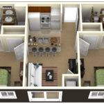 Plan Bedrooms Simple House Designs