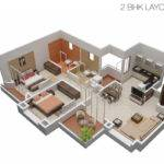 Plan Bhk Bungalow Joy Studio Design