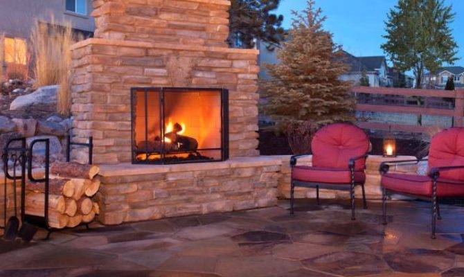 Plan Building Outdoor Fireplace Hgtv