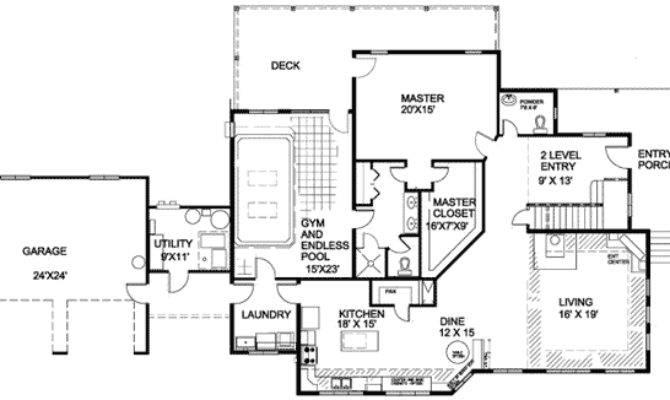 Plan Energy Efficient Indoor Pool