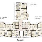 Plan Jaypee Moon Court Apartments Greater Noida Suraj Real Estate