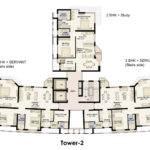 Plan Jaypee Moon Court Apartments Greater Noida Suraj Real Estate