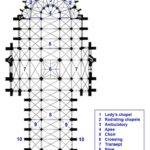 Plan Key Century Amiens Cathedral