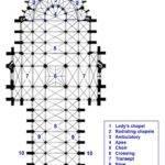 Plan Key Century Amiens Cathedral