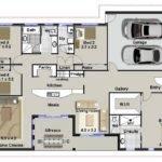 Plan Media Room Plans Skillion Roof Design Home