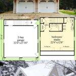 Plan Snazzy Looking Carriage House