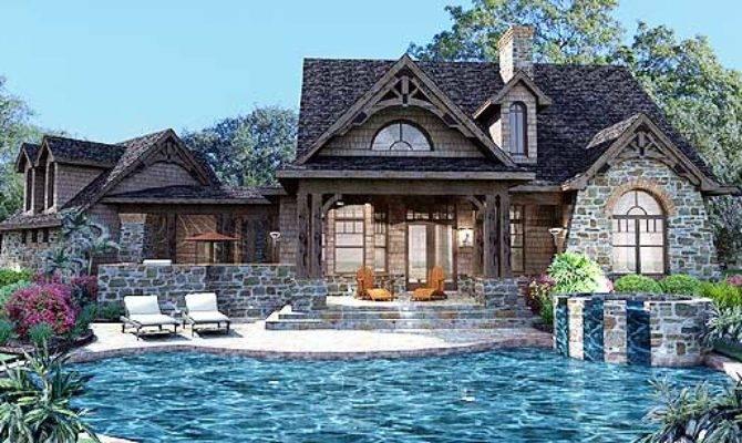 Plan Stone Cottage Flexible Garage