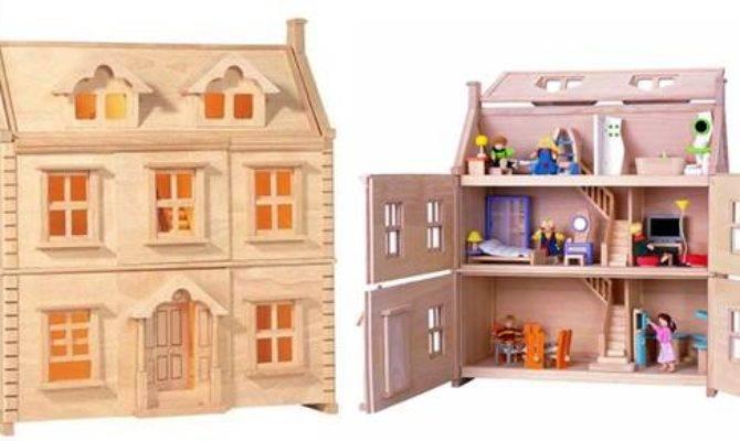 Plan Toys Victorian Dolls House