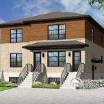 Plan Week Modern Contemporary Triplex