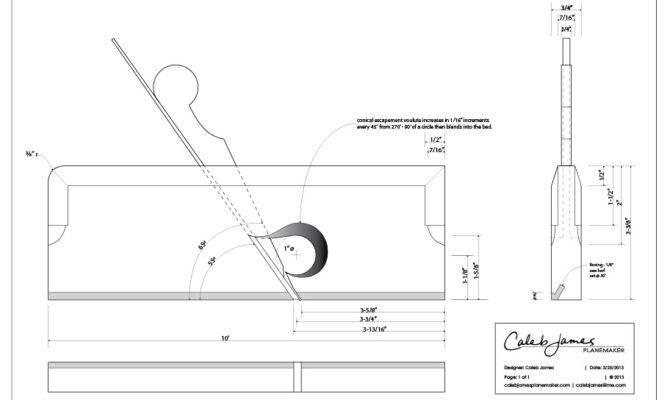 Plane Design Drawings