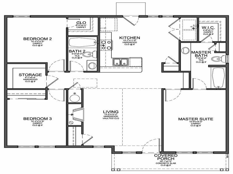 Planning Ideas Small House Floor Plans - House Plans | #40728