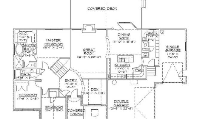 Plans Basements Floors House Big Rambler