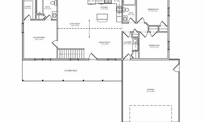 Plans Bedroom House Floor Three Split