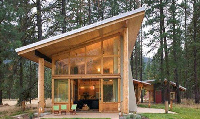 Plans Best Small Cabin Cabins Tiny Houses Blueprints