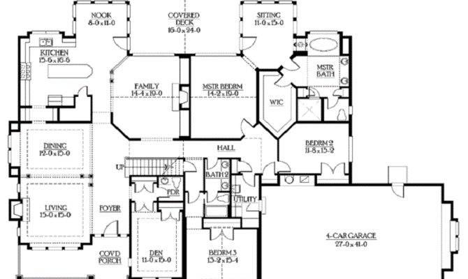 Plans Bonus Room Builderhouseplans Rambler Floor Plan Home