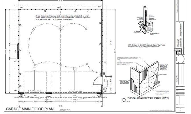 Plans Cabin Garage Plan House Playhouse Uncategorized