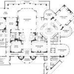 Plans Castle House Luxury Mansion