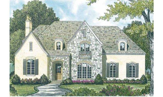 Plans Cottage House Plan French Style