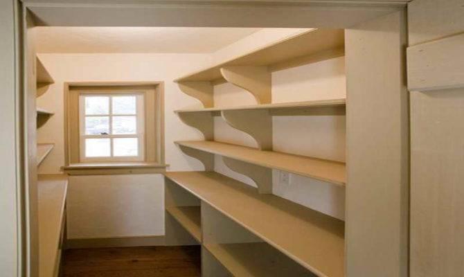 Plans Design Ideas Pantry Shelving