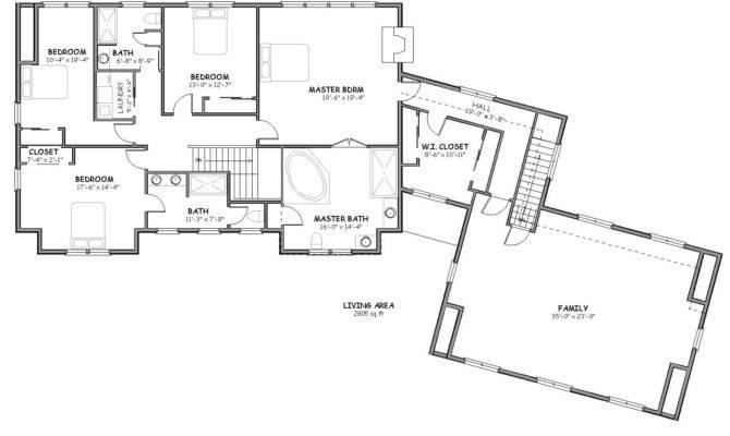 Plans Floor Luxury House Home Plan Large