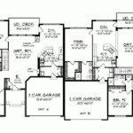 Plans Floor Plan Duplex Condo One Story