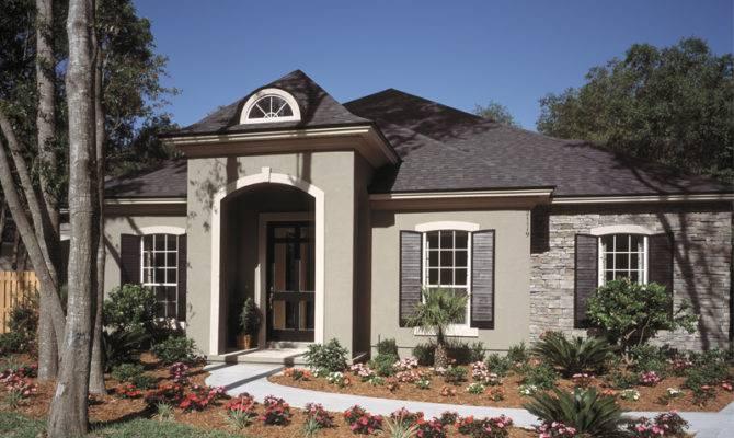Plans Florida House Modern Southwestern