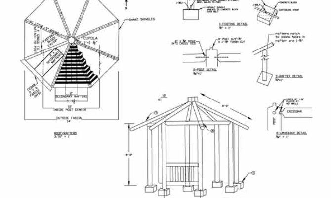 Plans Gazebo Best Way Build Lean Shed