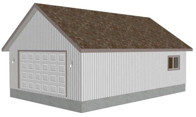 Plans Grunke Detached Garage