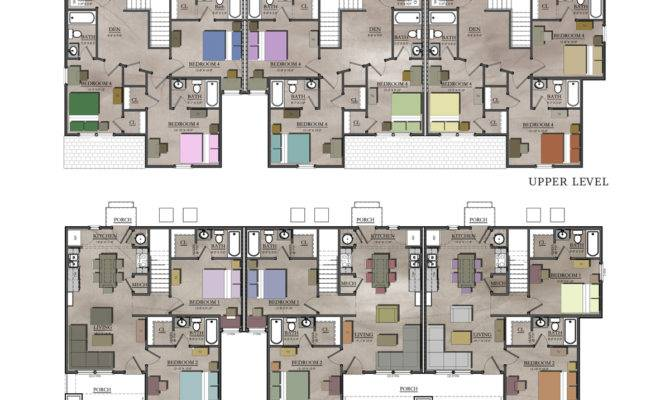 Plans Inspiration Remodel Home Townhouse Floor