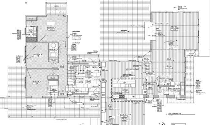 Plans Junek Lake House Construction