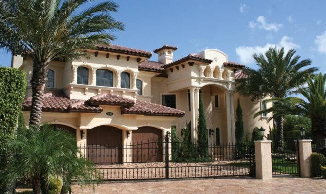 Plans Mediterranean House Santa Southwestern