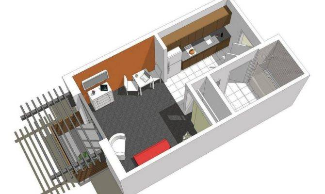 Plans Micro Apt Apartments Small Spaces Design