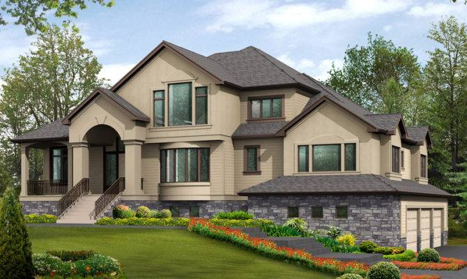 Plans Modern House Southern Traditional