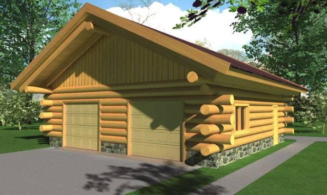 Plans Package Garage Shed Log Home Builders Association