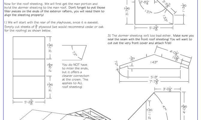 Plans Play Houses Floor