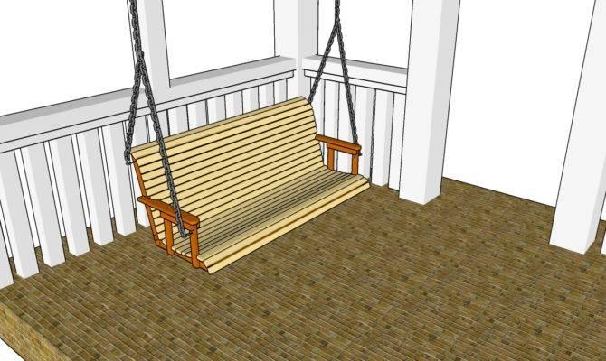 Plans Porch Swings Diy Guide Adirondack