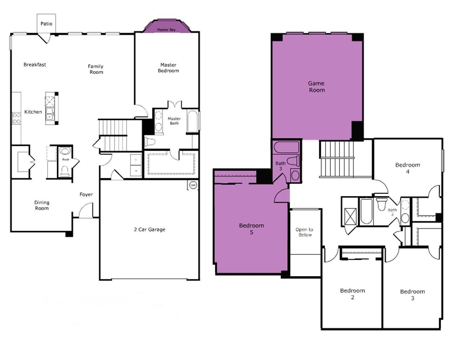 Plans Room Addition Floor House Plans 9669