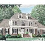 Plans Southern Plantation House Traditional
