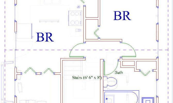 Plans Used House Can Easily Lengthened