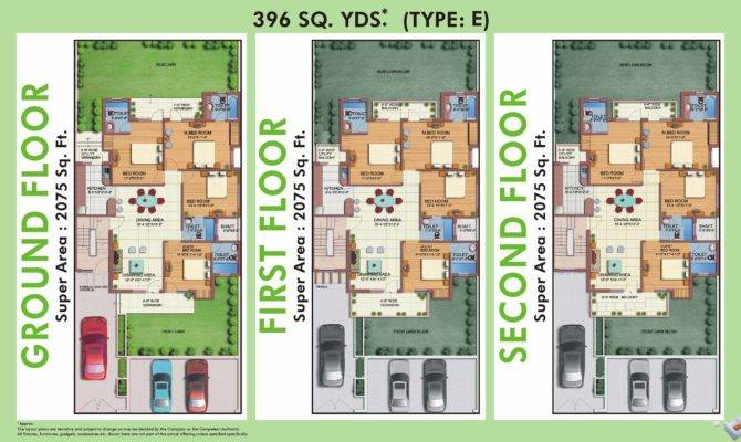 Plans White House Sector Gurgaon