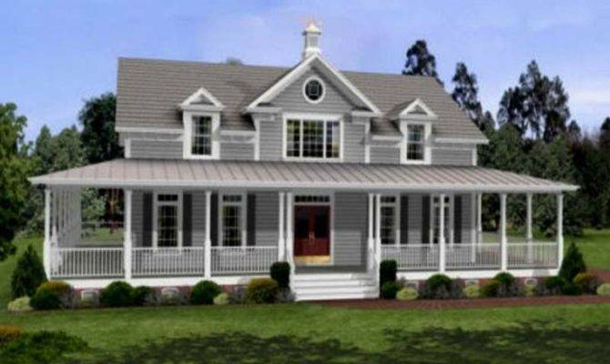 Plans Wrap Around Porch Guide Latest Small Farmhouse