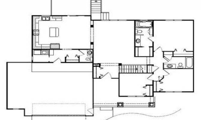 Plantation House Floor Plan Southern Style