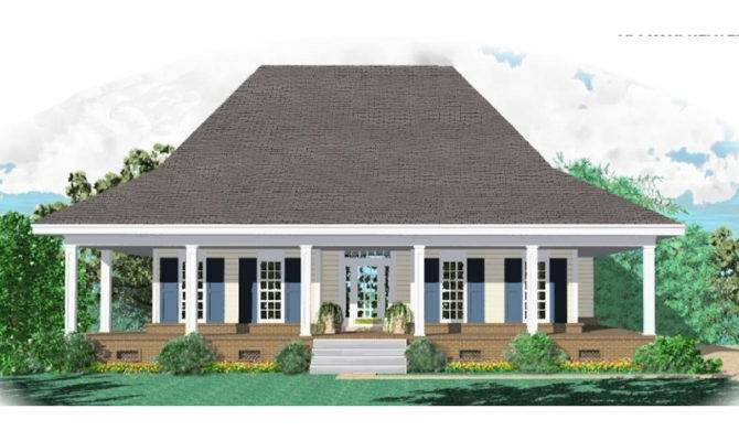 Plantation House Plan Front Home Plans More