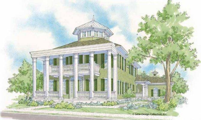 Plantation House Plan Marvelous Neoclassical Style Home