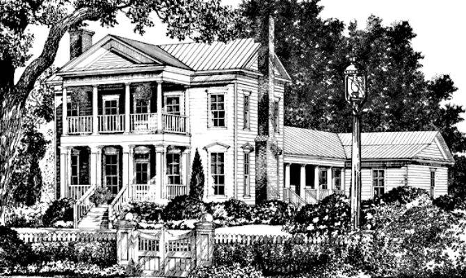 Plantation House Plans Southern Living