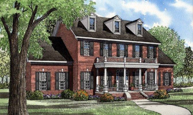 Plantation House Plans Southern Style Homes House Plans 141616
