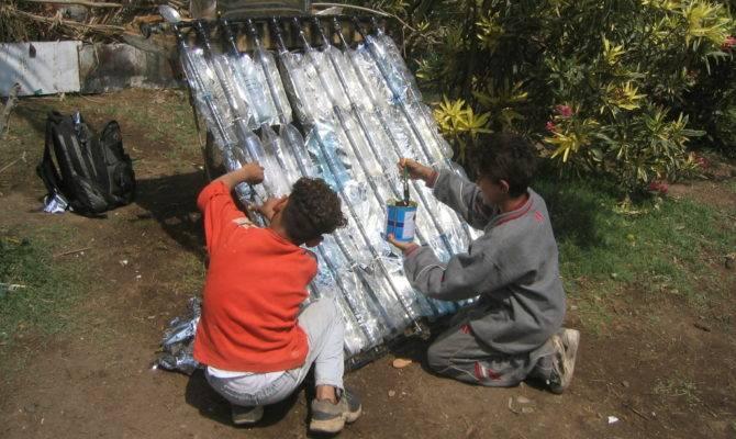 Plastic Bottle Solar Water Heater Empowerment Network